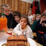 Jeanne a 4 ans !!!