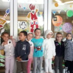 Les Extrabiennales d'aquarelle : visite de l'exposition en ms/gs B.